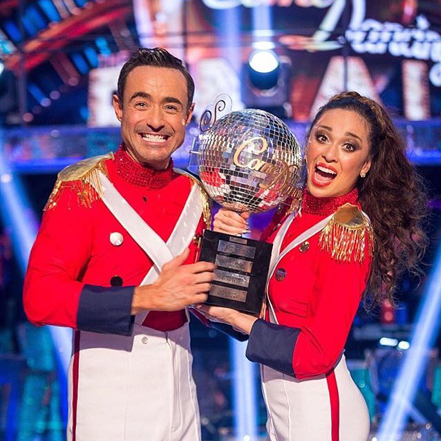 Waking up as the New STRICTLY CHAMPIONS!!!! Congratulations again mrjoemcfaddenhellip