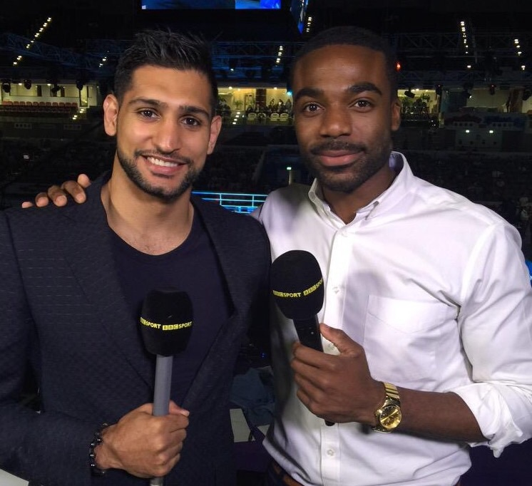 ON-AIR: Ore joins Amir Khan to present World Boxing Championships