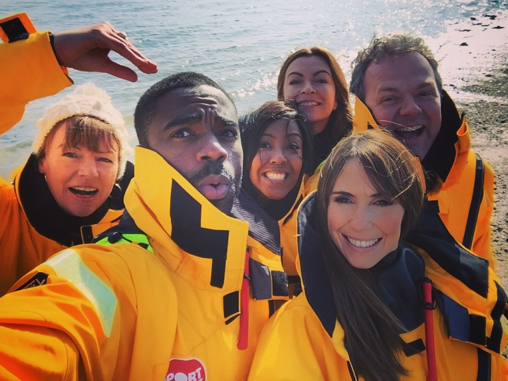 BLOG: High Seas, Synchro Swimming and Sport Relief 2016