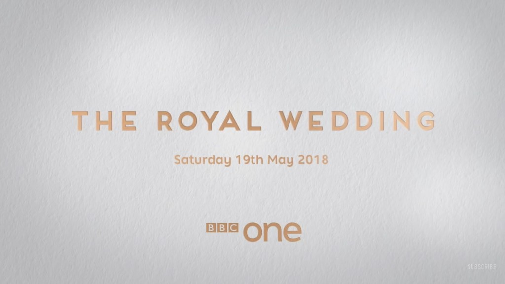 NEWS: Ore announced among presenters for The Royal Wedding